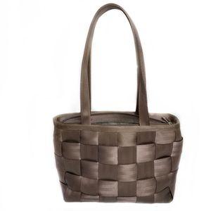 Harveys Seat Belt Detroit Dark Brown Bag Purse